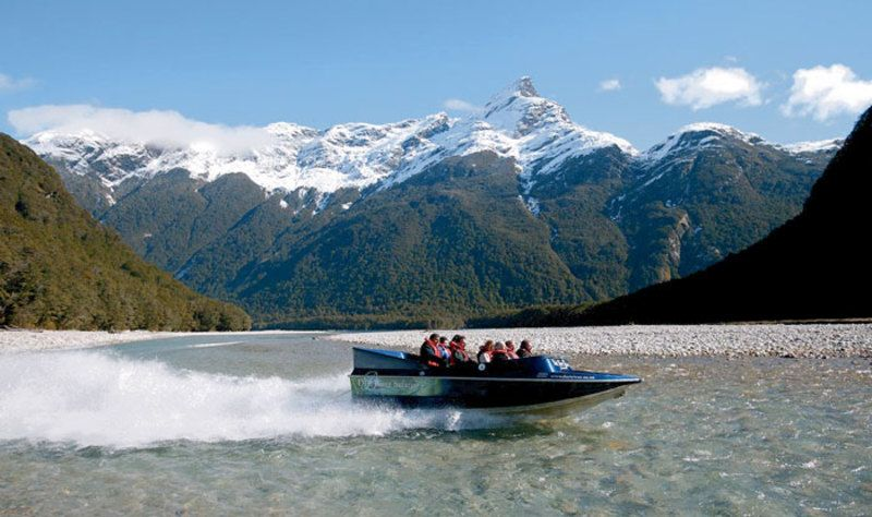 Pure Adventure South Island Boating